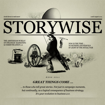 storywise Steve Seager: The Traditional Approach to Strategic Communication Is Outdated